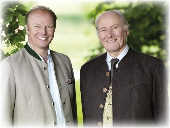 Stefan Hipp és prof. dr. Claus Hipp